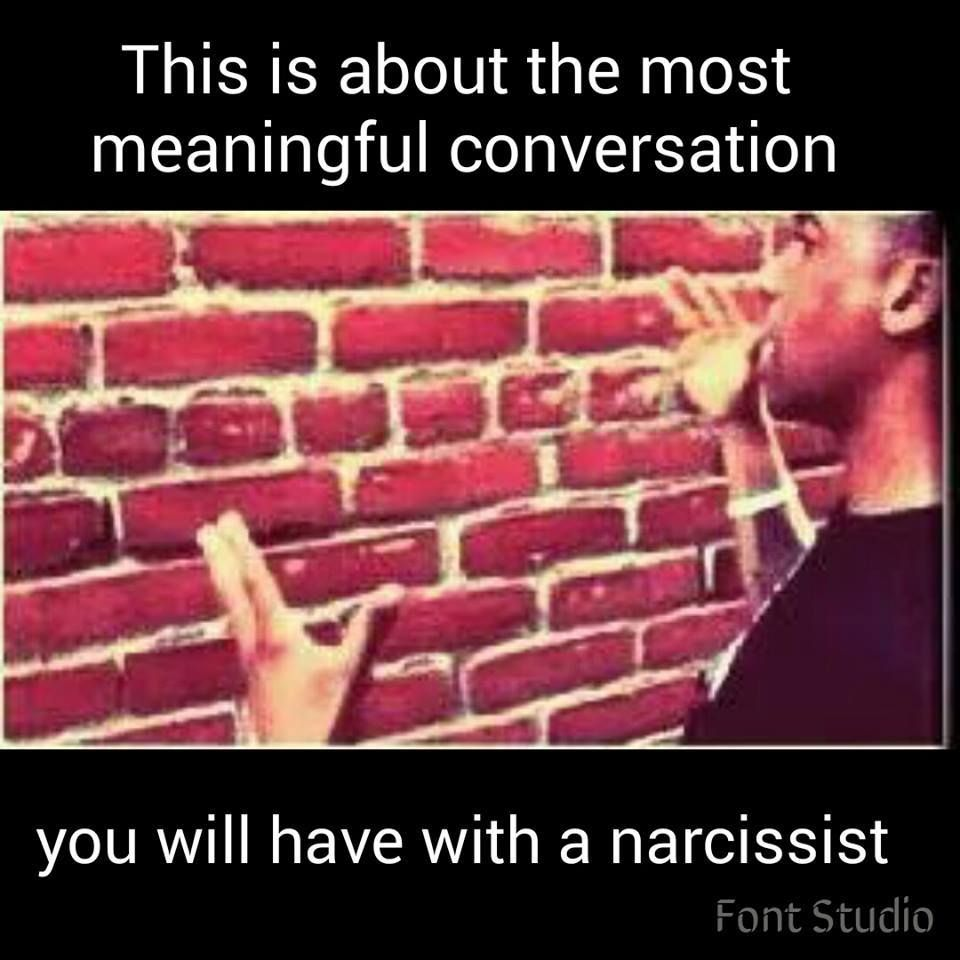 What not to say to a narcissist