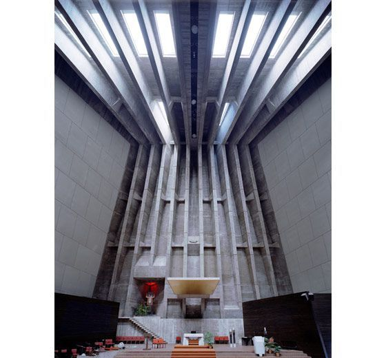 Modern Interior Design Church Mcm Mid Century