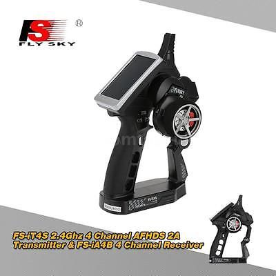 Flysky fs-it4s #2.4ghz 4ch #afhds 2a transmitter &fs-ia4b #receiver for rc car bj,  View more on the LINK: 	http://www.zeppy.io/product/gb/2/131637656576/