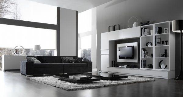 Muebles modernos para salones2 home pinterest studio - Muebles de tv modernos ...