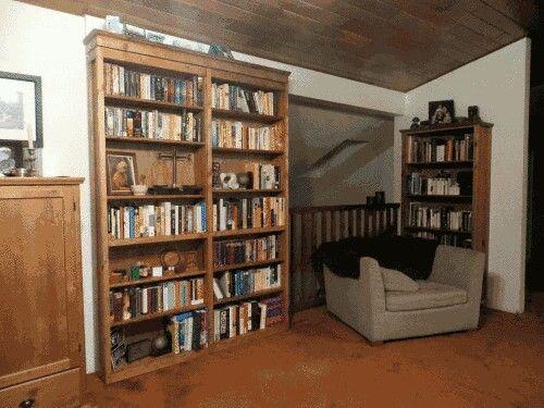 Hidden Room Behind Bookcase