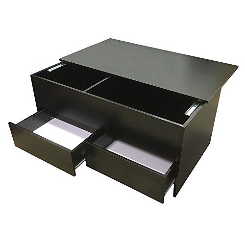 From 4999 Redstone Black Coffee Table Slide Top With Storage