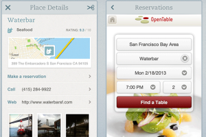 Evernote Food announced a few updates Tuesday that integrate it with foodie services and let users share recipes to Twitter and Facebook.  OpenTable is now built into Evernote Food so that users can book reservations directly from the app, the company announced on its blog. They can share recipes on Facebook, Twitter and via email. And people who already used Evernote to store recipes, but weren't using Evernote Food, can import those recipes from Evernote into the Evernote Food app…