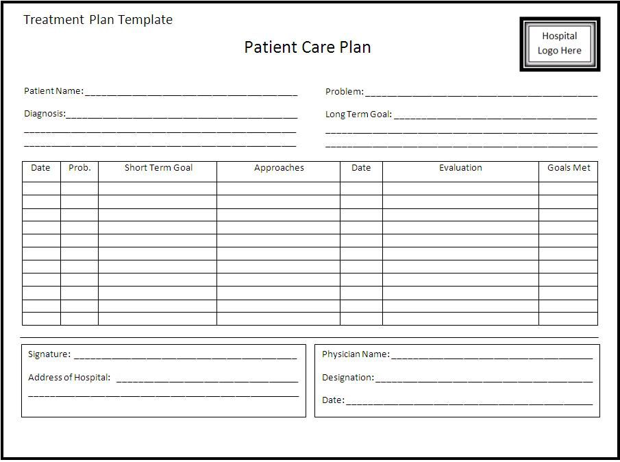 Treatment-Plan-Templatejpg (905×674) Foster care Pinterest - plan of action format
