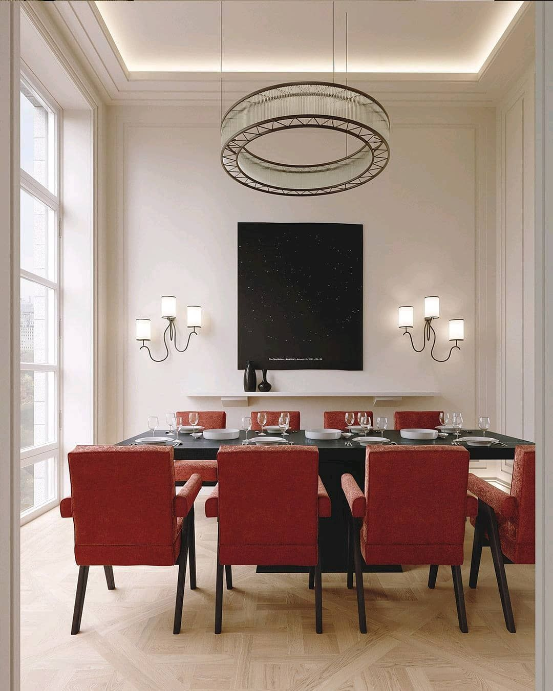 Render Of Luxurious Dining Room Envisioned By Bloorise Visual