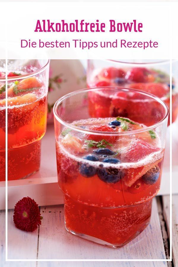 Alkoholfreie Bowle - die besten Tipps und Rezepte | LECKER