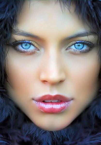 blue eye ögon