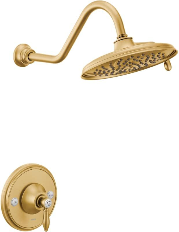 Moen Ts32102 With Images Moen Shower Fixtures Gold Faucet