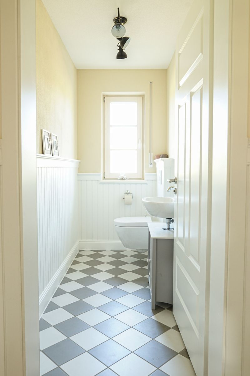 Badgestaltung Mit Beadboard De Paneelen In 2020 Badgestaltung Holzverkleidung Badezimmer