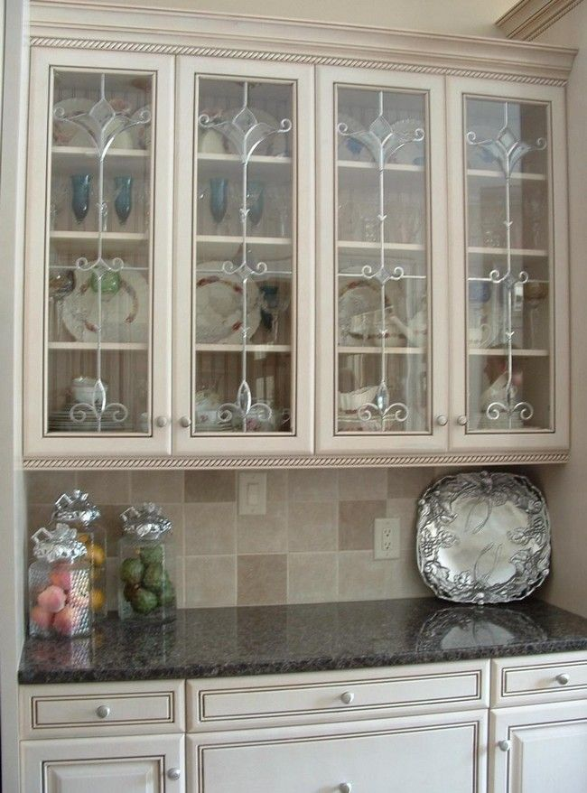 ideas on installing the best frosted glass cabinets in your kitchen glass kitchen cabinet on kitchen cabinets with glass doors on top id=82704