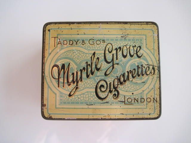 Excited to share the latest addition to my #etsy shop: Taddy's Myrtle Grove Cigarette Tin (50) c.1895 http://etsy.me/2EnQMe8 #vintage #collectables #tobaccocollectibles