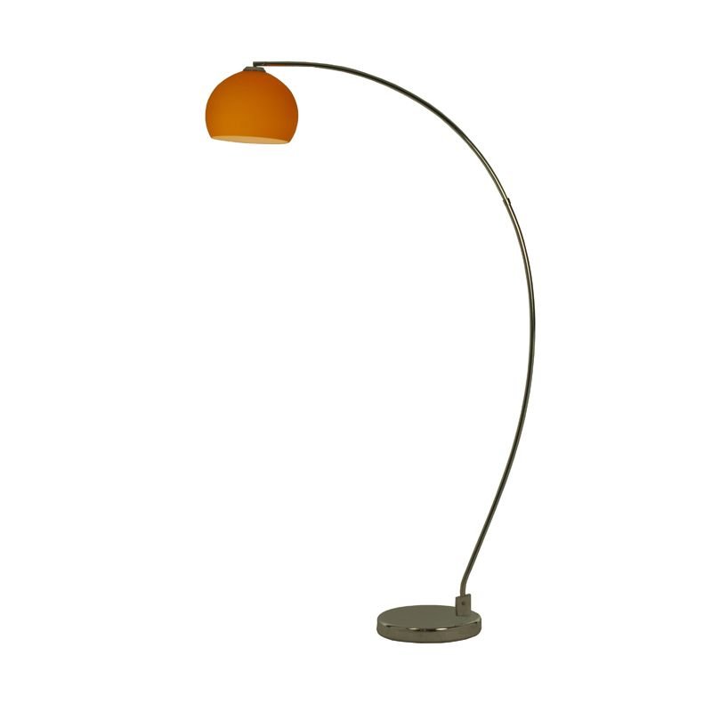 Dana light retro floor lamp orange shade httpdecorharrogate dana light retro floor lamp orange shade mozeypictures Images