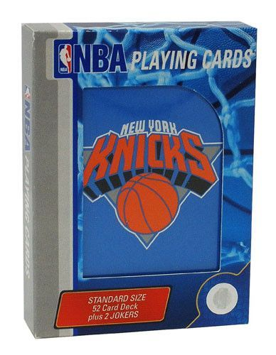 New York Knicks Playing Cards