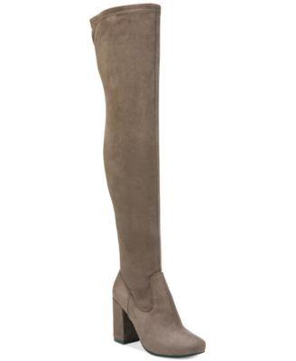 Carlos by Carlos Santana Rumor Over-The-Knee Block-Heel Boots