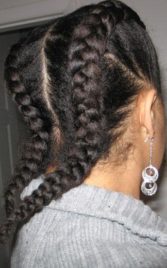 Cool 1000 Images About Goddessbraidscornrow Protective Styles On Pinterest Short Hairstyles Gunalazisus