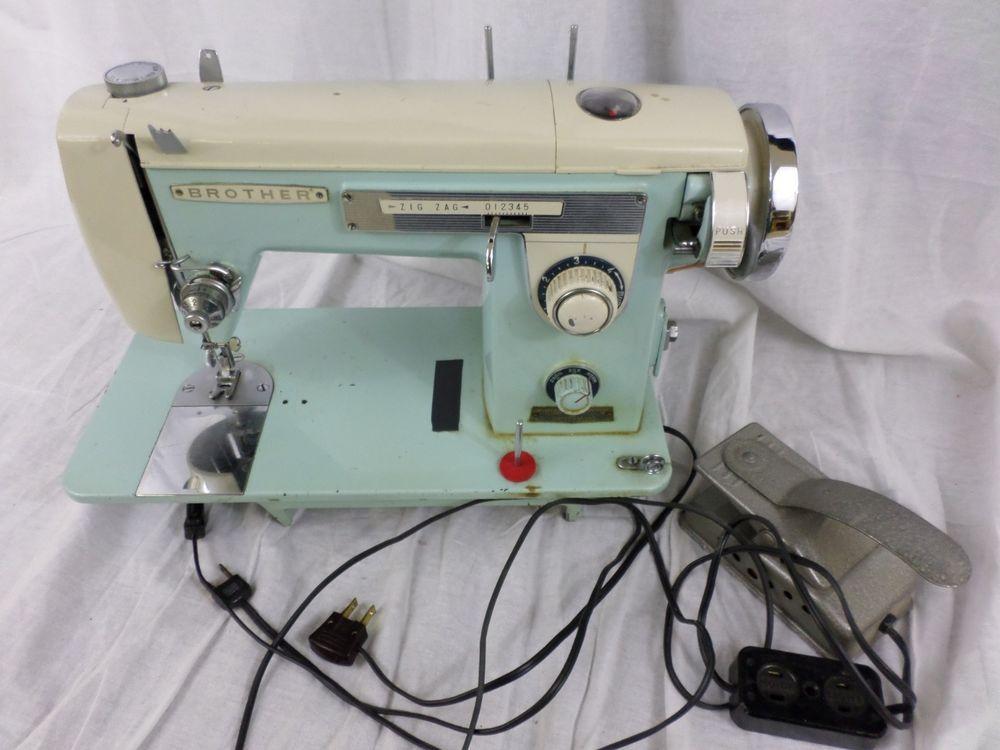 Brother Vintage Sewing Machine Galaxie Model 40 Made In Japan Amazing Brother Japan Sewing Machine