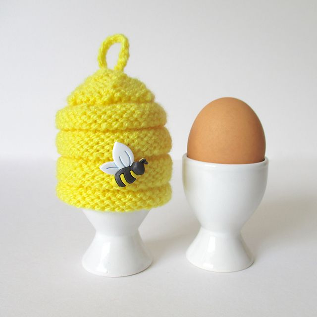 Ravelry: Beehive Egg Cosy by Amanda Berry | Knitting Holidays ...