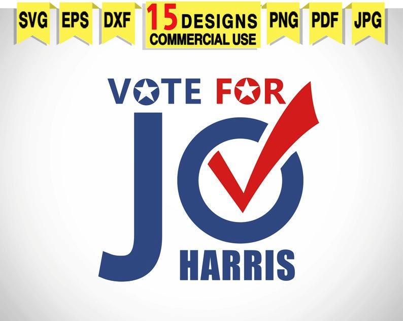 Digital File Biden 2020 svg Elections 2020 svg Kamala HARRIS svg Joe BIDEN svg Make America Think Again svg Harris 2020 svg