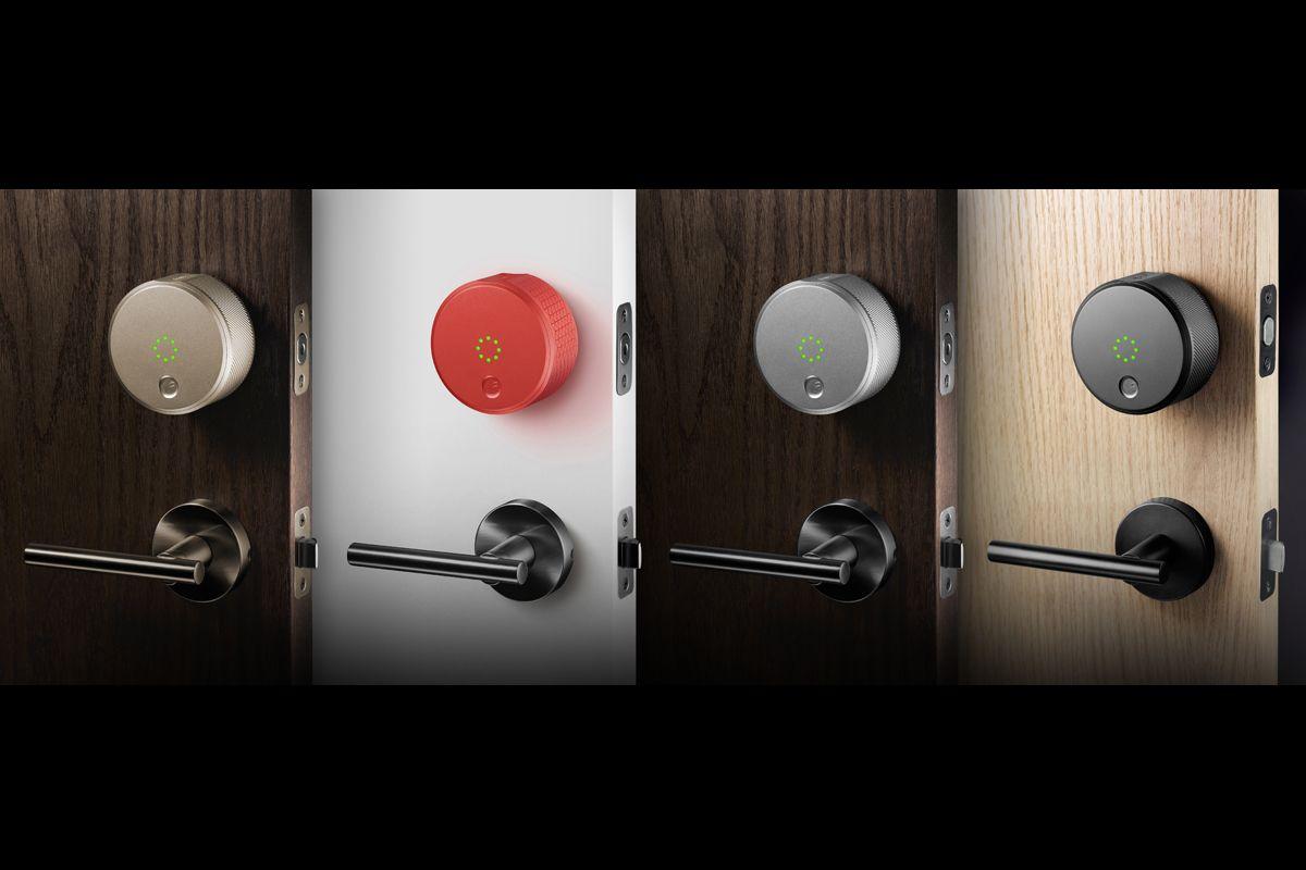 The August Smart Lock August Smart Lock Smart Lock Smart Door Locks