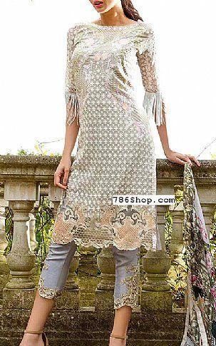Grey Chiffon Suit | Buy Sobia Nazir Pakistani Dresses and Clothing ...