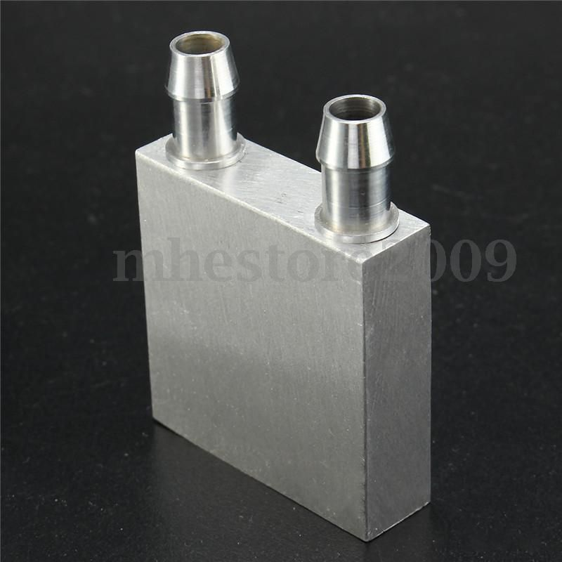 3 73 40x40x12mm Aluminum Water Liquid Cooler Block Heatsink For