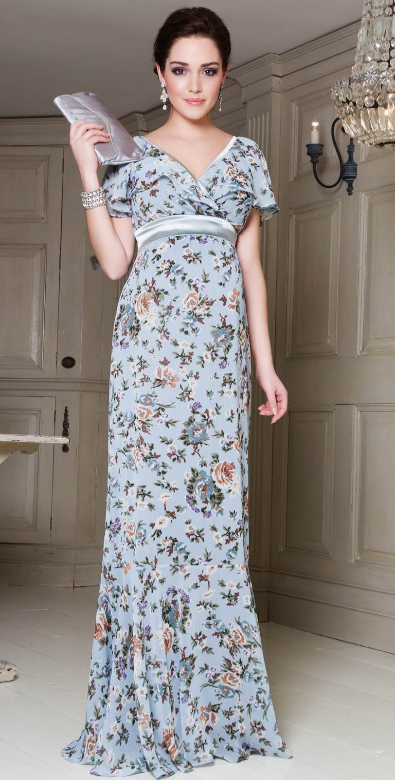 Summer Pregnancy Dress | Screenfonds | Fashion Maternity Style ...