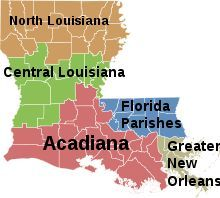 Map Of Louisiana | LOUISIANA ♥ HOME SWEET HOME♥ in 2018 ...