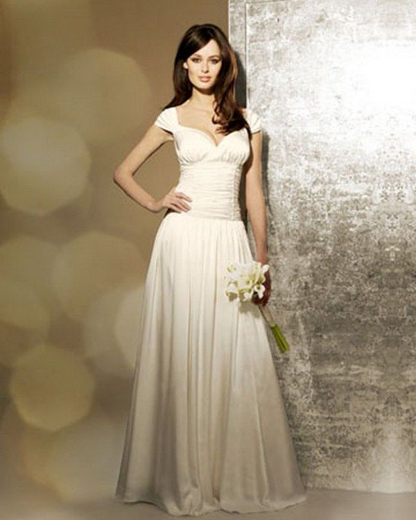 Informal Wedding Dresses For Second Marriage