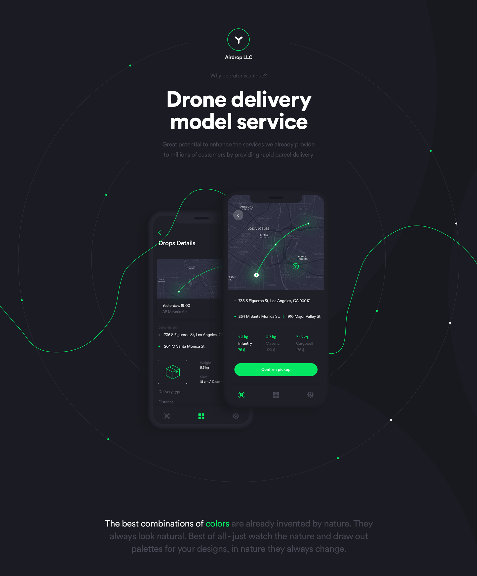 Airdrop - Drone Delivery Service on Behance