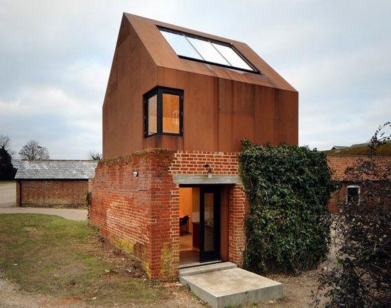 maison acier corten | Acier Design | Pinterest | Acier corten ...