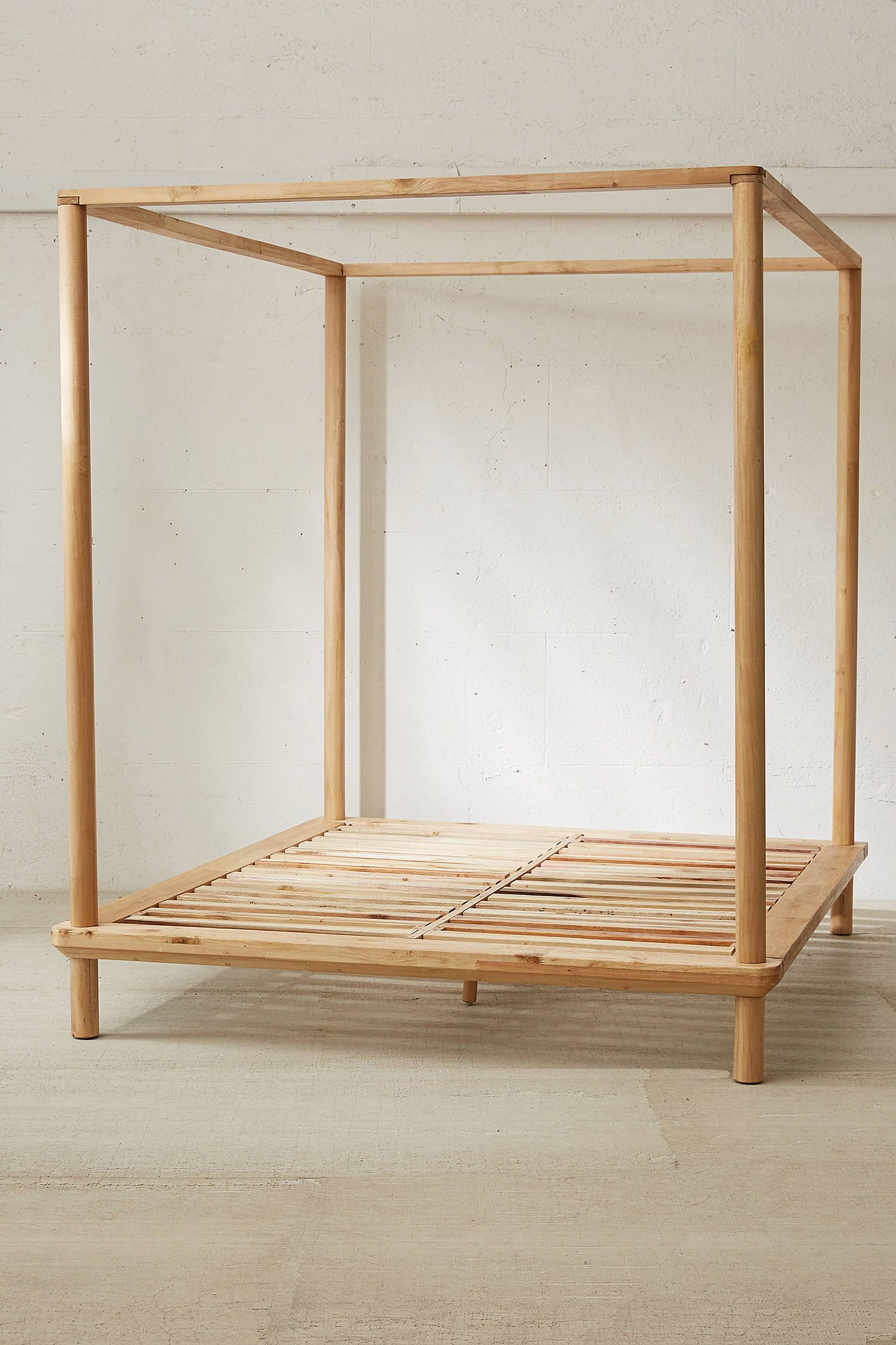 - Eva Wooden Canopy Bed In 2020 Wooden Canopy Bed, Canopy Bed