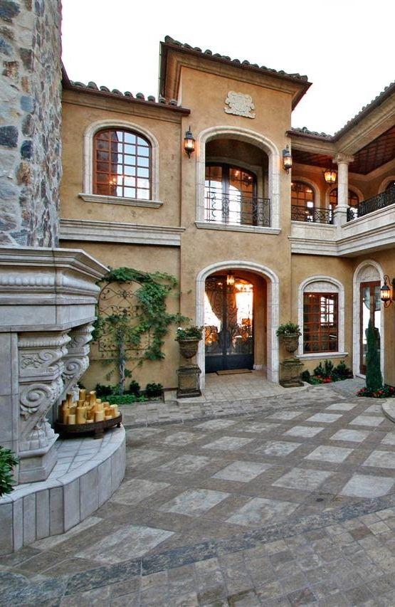 Old World Mediterranean Italian Spanish Amp Tuscan Homes