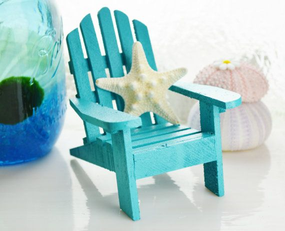 Miniature Adirondack Chair Terrarium By BeachCottageBoutique, $10.95