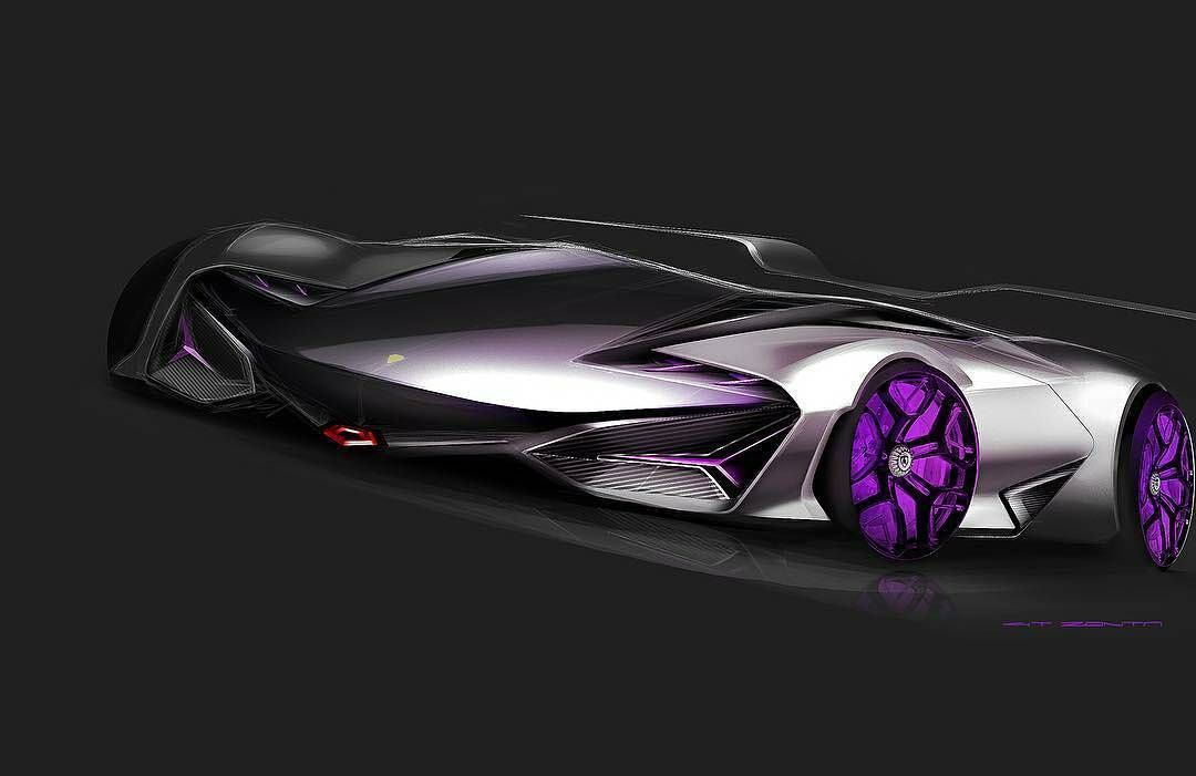 Regranned From Gt Zonta Lambo Lambochallenge Savethediablo Automotive Design Cardesign Lamborghini Sketch Concept Car Rendering Photo