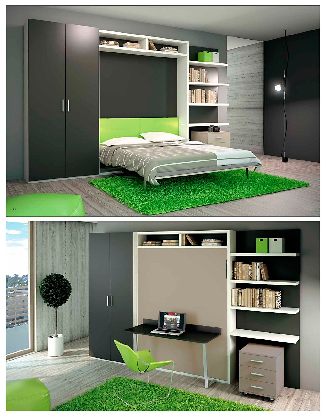 Small spaces and smart designs have never had such a