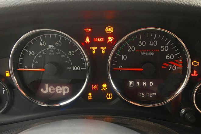 Jeep Jk Dash Warning Lights What They Mean