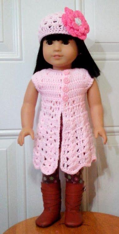 Let\'s create: Crochet Top For American Girl | American Girl Doll ...