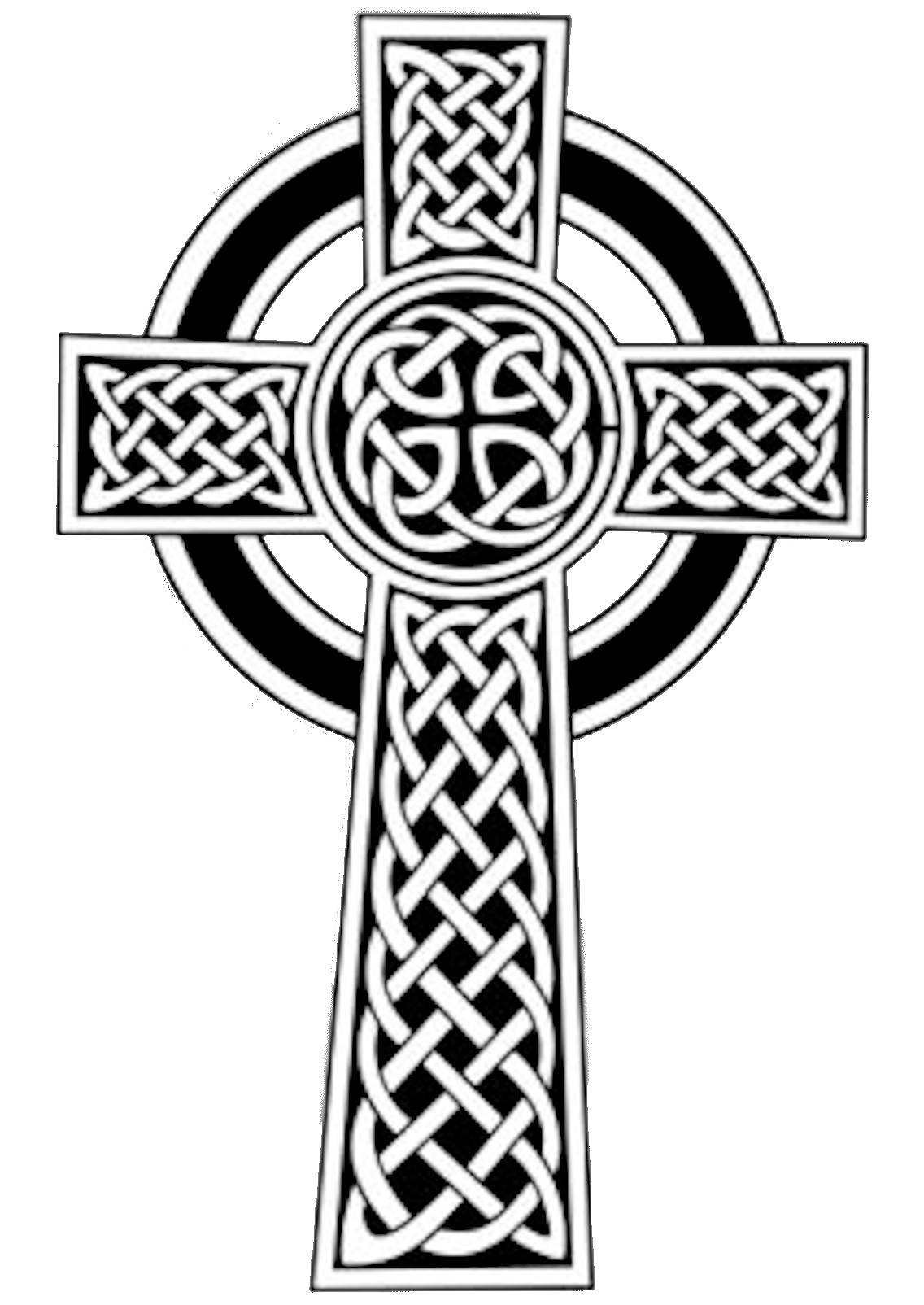 Free Celtic Clip Art Celtic Cross image vector clip