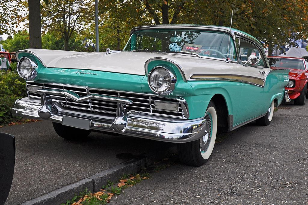 1957 Ford | Classic Cars | Pinterest | Ford, Cars and Ford fairlane