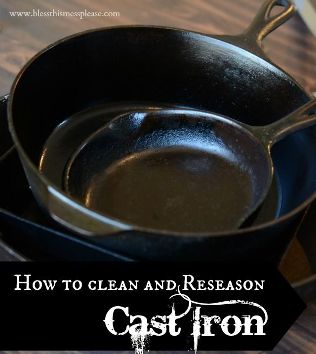 how to clean and reseason cast iron skillets cleaning cast iron and cast iron pot. Black Bedroom Furniture Sets. Home Design Ideas