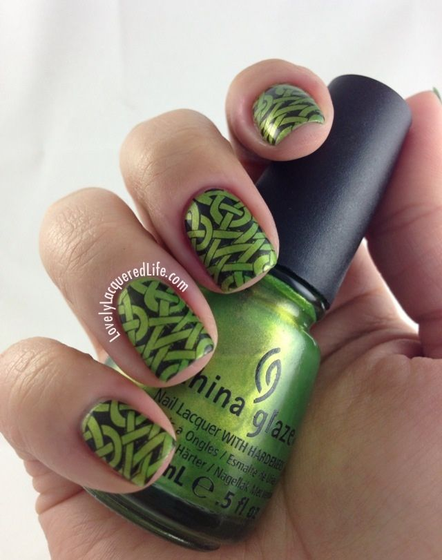 Lovely Lacquered Life: NOTD: Celtic Knots | Nails | Pinterest | Me ...