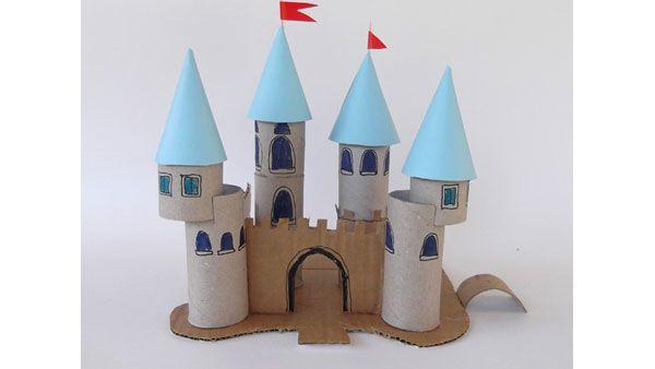 Arte Con Rotoli Di Carta Igienica : Castello con rotoli carta igienica perdonne la tua nuova