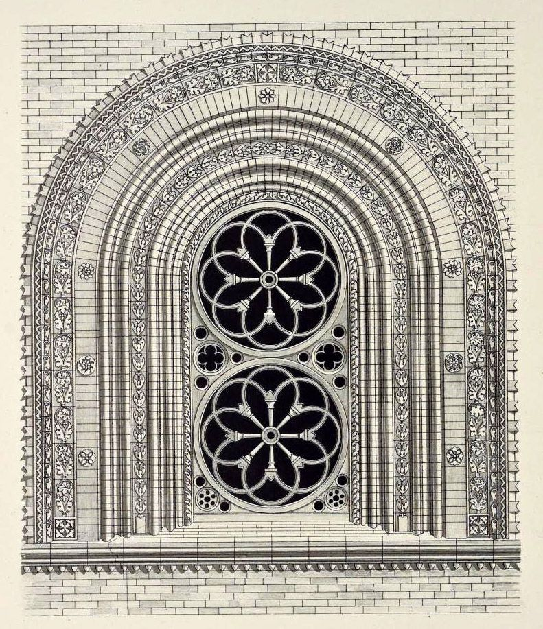 Design for a Cathedral Window, Italy | Architecture ...