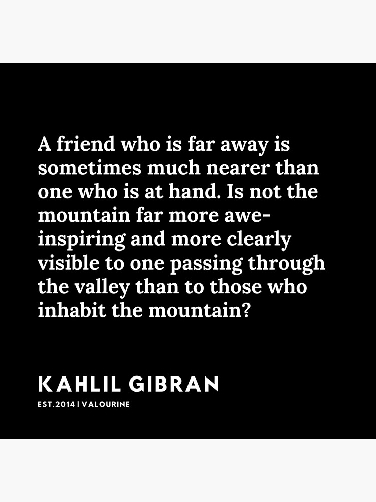 33 |  191119 | Kahlil Gibran Quotes  Poster by valourine