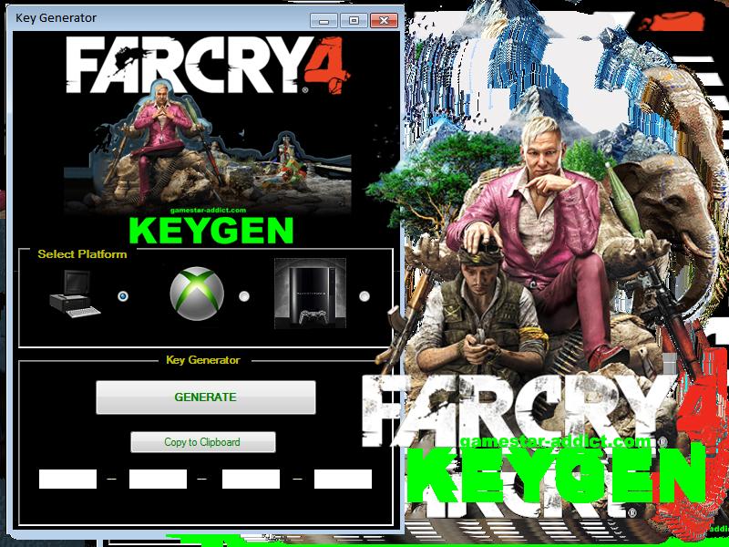 Far Cry 4 KeyGen Far cry 4, Generation, Movie posters