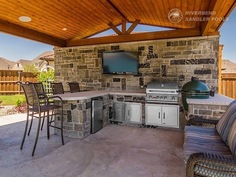 Outdoor Kitchen Dallas With Images Outdoor Living Outdoor Living Areas Patio