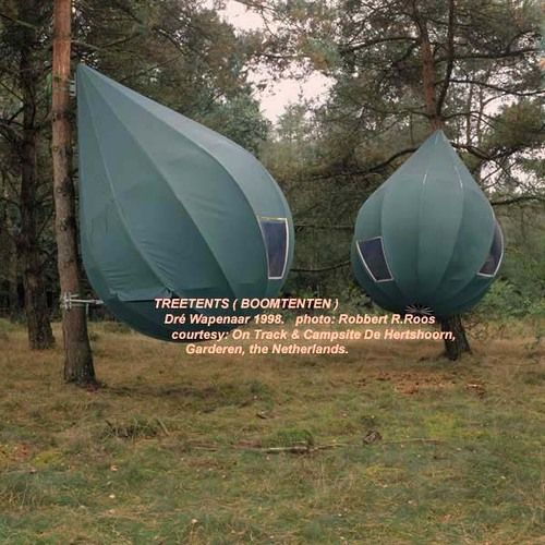 Tree tents...from the Netherlands. What would the & Boomtenten...Tree tents...from the Netherlands. What would the ...