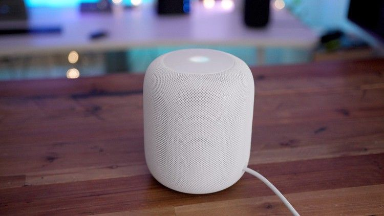 releasing HomePod software update with promised voice