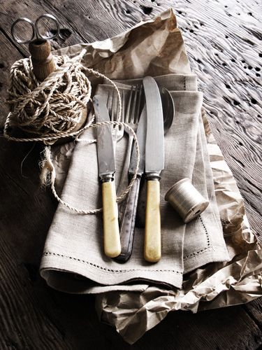 Nice styling.  I have those knives, too.