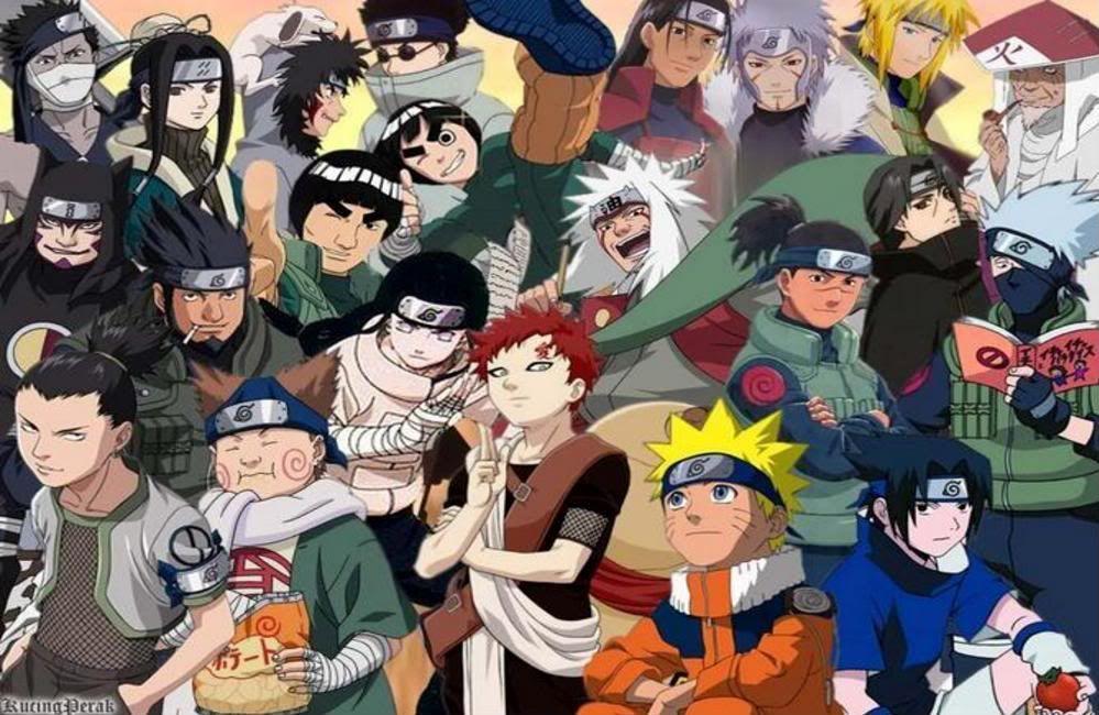 Naruto Boys All Of The Naruto Boys Sorta All Of Them Photo